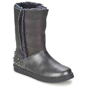 Shoes Girl Mid boots Unisa NILL Black