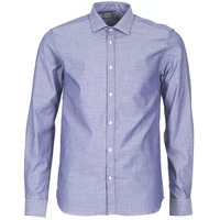 material Men long-sleeved shirts Casual Attitude FILENI Blue