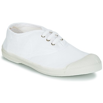 Shoes Children Low top trainers Bensimon TENNIS LACET White