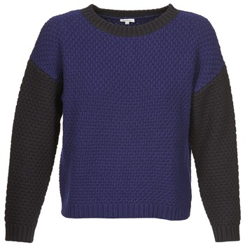 material Women jumpers Manoush POINT DE RIZ Blue / Black