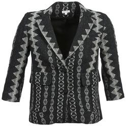 material Women Jackets / Blazers Manoush TAILLEUR Grey / Black