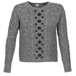 material Women jumpers Manoush TORSADE Grey / Black