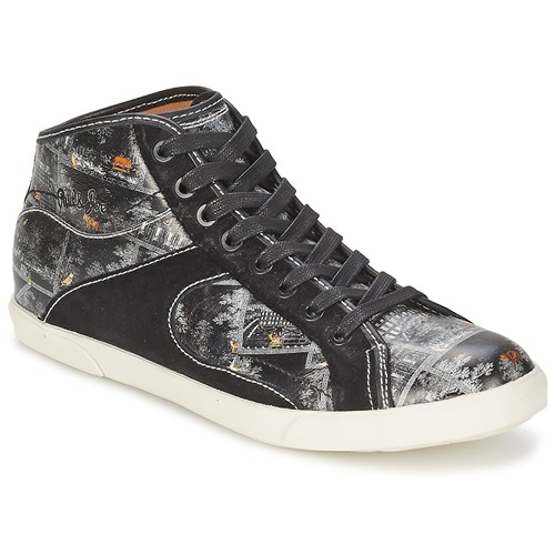 Shoes Women High top trainers Paul & Joe Sister STENFORD Black