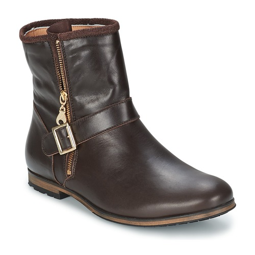 Shoes Women Mid boots Paul & Joe Sister NOUNO Brown