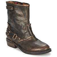 Shoes Women Mid boots Sans Interdit HASHLEY Cinnamon
