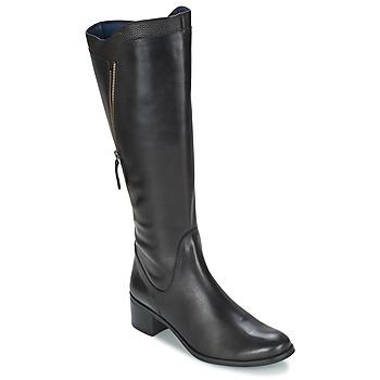 Shoes Women Boots PintoDiBlu CARTIL Black