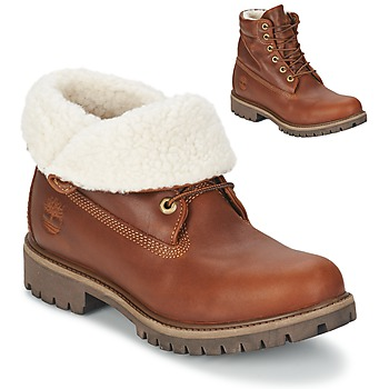 Shoes Men Mid boots Timberland ROLL TOP L/F AF Brown