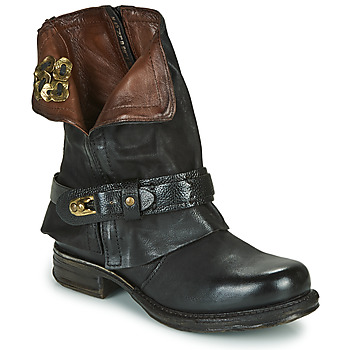 Shoes Women Mid boots Airstep / A.S.98 SAINT BIKE Black