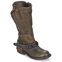 Shoes Women Boots Airstep / A.S.98 RINETTE Brown