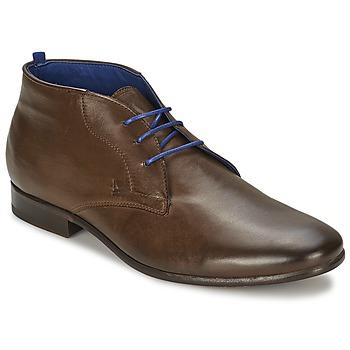 Shoes Men Mid boots Azzaro ISON Chestnut