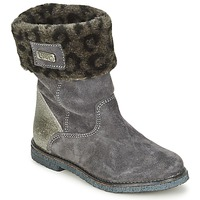 Shoes Girl Mid boots Le Temps des Cerises JUNIOR EVA Grey