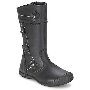 Shoes Girl Boots Citrouille et Compagnie AMATIS Black