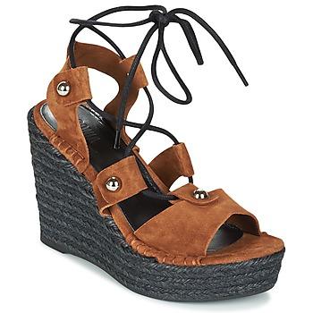Shoes Women Sandals Sonia Rykiel 622908 Tabacco