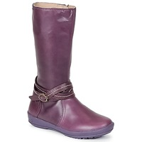 Shoes Girl Boots Garvalin TARDA MAUVE