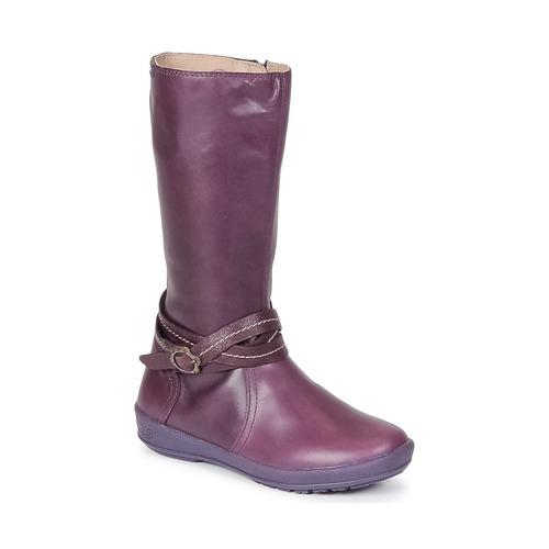 Shoes Girl Boots Garvalin TARDA Mauve
