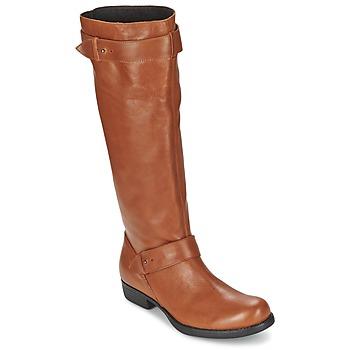Shoes Women Boots One Step IANNI CARAMEL