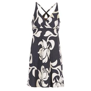 material Women Short Dresses Patagonia AMBER Black / White