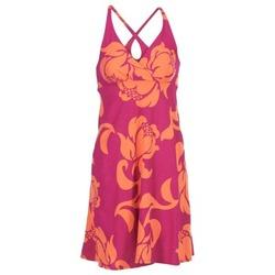 material Women Short Dresses Patagonia AMBER Pink / CORAL