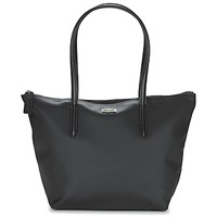 Bags Women Shoulder bags Lacoste L.12.12 CONCEPT S Black