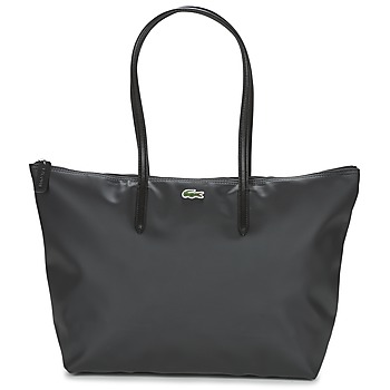 Bags Women Shoulder bags Lacoste L.12.12 CONCEPT L Black