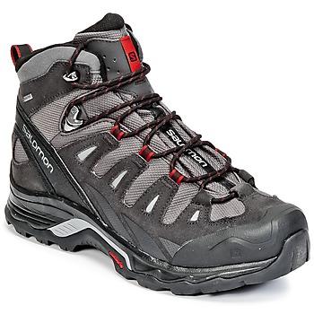 Shoes Men Hiking shoes Salomon QUEST PRIME GTX® Grey / Black / Red