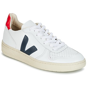 Shoes Low top trainers Veja V-10 White
