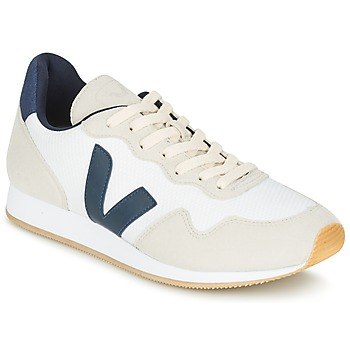 Shoes Low top trainers Veja SDU White / Blue / BEIGE
