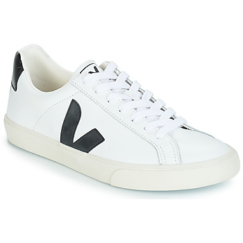 Shoes Men Low top trainers Veja ESPLAR LOW LOGO White / Black