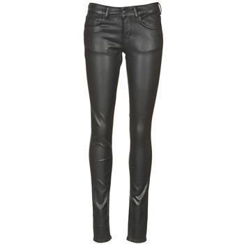 material Women slim jeans Cimarron ROSIE JEATHER Black