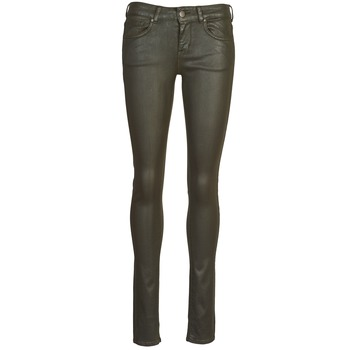material Women 5-pocket trousers Cimarron ROSIE JEATHER Black