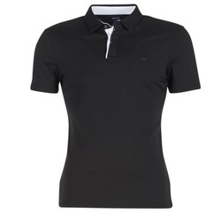 material Men short-sleeved polo shirts Armani jeans MEDIFOLA Black