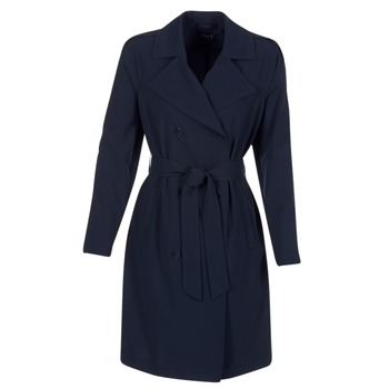 material Women Trench coats Armani jeans HAVANOMA Blue