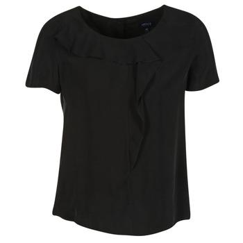 material Women Blouses Armani jeans GITAMIO Black
