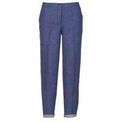 material Women 5-pocket trousers Armani jeans JAFLORE Blue