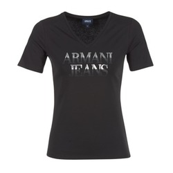 material Women short-sleeved t-shirts Armani jeans JAGONA Black