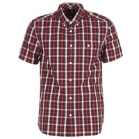 material Men short-sleeved shirts DC Shoes ATURA 5 SS Red