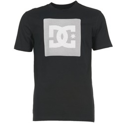 material Men short-sleeved t-shirts DC Shoes VARIATION SS Black / Grey / White