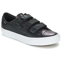 Shoes Women Low top trainers Vans PRISON ISSUE Black