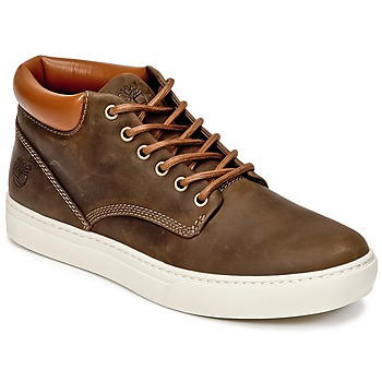 Shoes Men High top trainers Timberland ADVENTURE 2.0 CUPSOLE CHK Brown