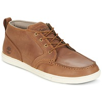 Shoes Men Low top trainers Timberland FULK LP CHUKKA MT LEATHER Brown