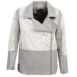 material Women coats Eleven Paris FLEITZ Grey / BEIGE