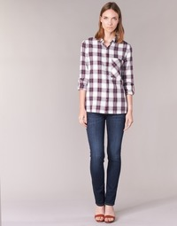 material Women straight jeans Pepe jeans VENUS Blue / H06