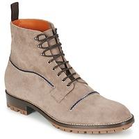 Shoes Men Mid boots Etro E174 Taupe