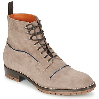 Shoes Men Mid boots Etro E174 TAUPE