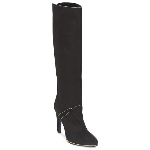 Shoes Women Boots Etro 3119 Black / Gold