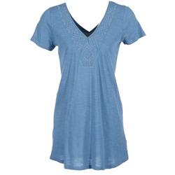 material Women Short Dresses Roxy DUSTIN Blue