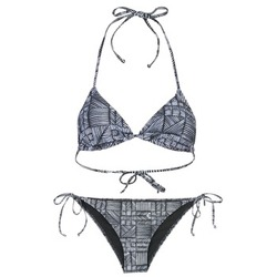 material Women Swimsuits Roxy DOLTY Black / White