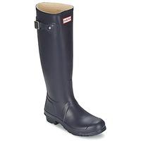 Shoes Women Wellington boots Hunter Women's Original Tall Blue