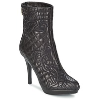 Shoes Women Ankle boots Versace MARGHERITA Black