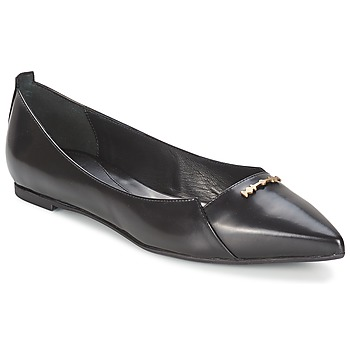 Shoes Women Ballerinas McQ Alexander McQueen 375371 Black